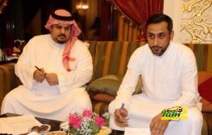 الامير عبد الرحمن بن مساعد والجابر
