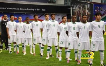 المنتخب السعودي 16